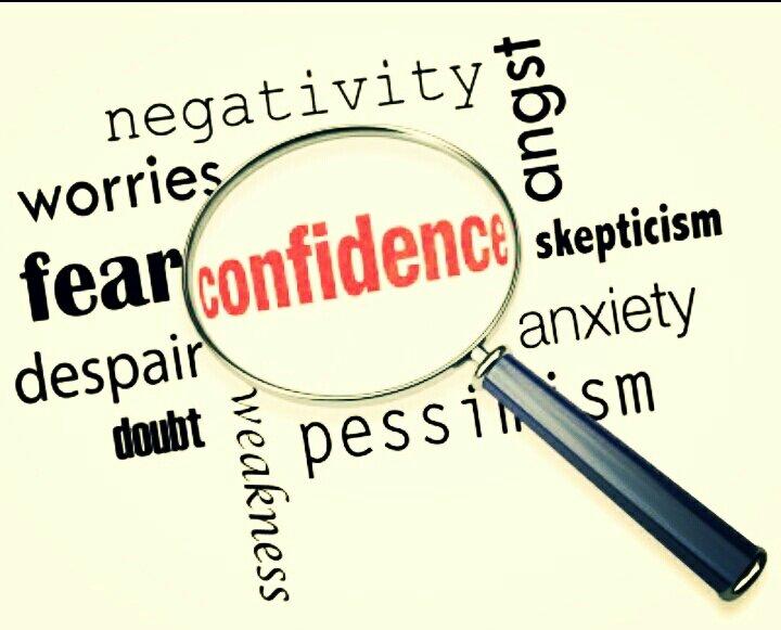 SELF CONFIDENCE GETS YOUFAR