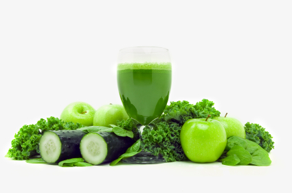 THERE'S POWER IN THIS GREEN JUICE