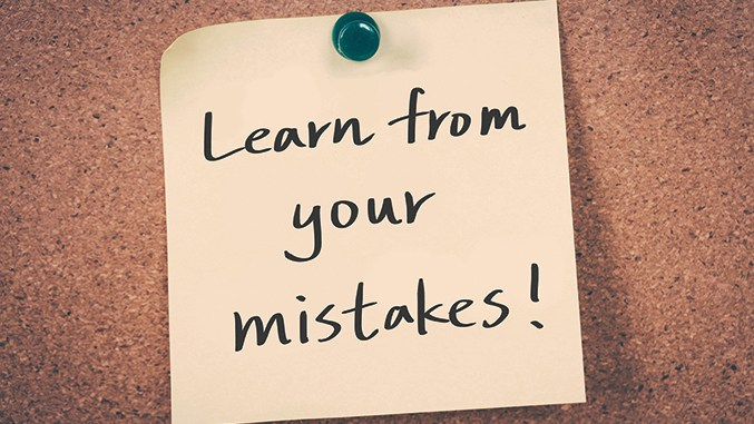 Learn From Your Past Mistakes