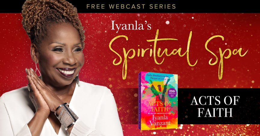 Iyanla Vanzant Spiritual Spa: Relationship With Self